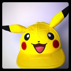 Licensed Baseball Cap Pokemon Pikachu  Ears Anime